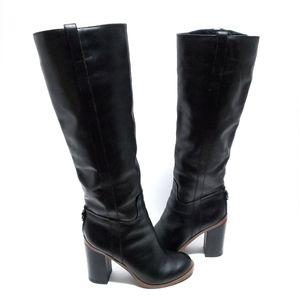 Aldo JEN Riding Boots Leather Knee-high Size 6